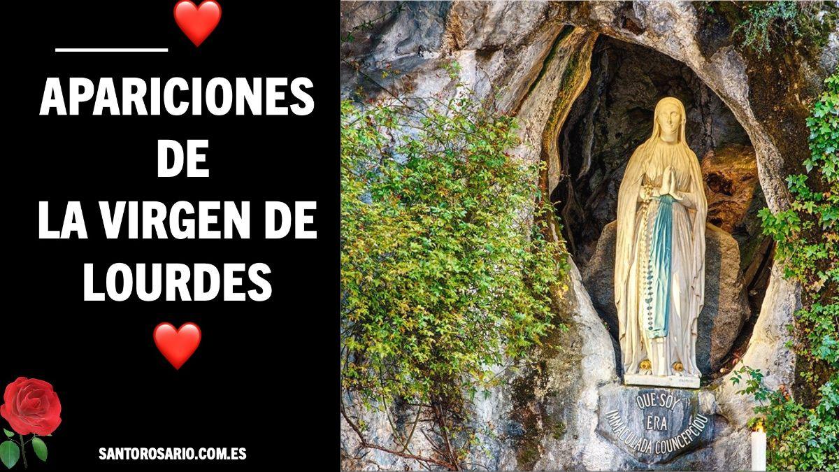 Apariciones de la Virgen de Lourdes