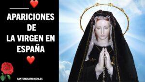 Apariciones de la Virgen en España